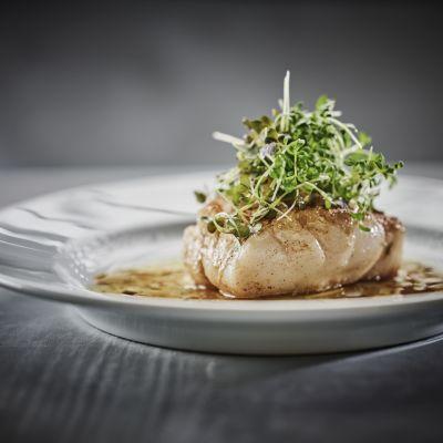 Cod from Lofoten - served in Havrand Restaurant, photo by Tom Haga