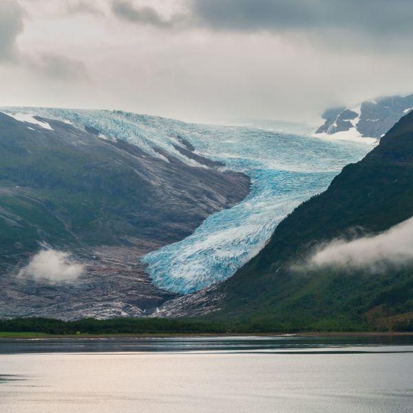 Glacier Svartisen.