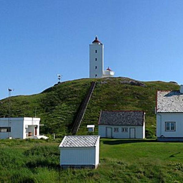 Fruholmen lighthouse. Photo Museumene for kystkultur og gjenreisning i Finnmark IKS