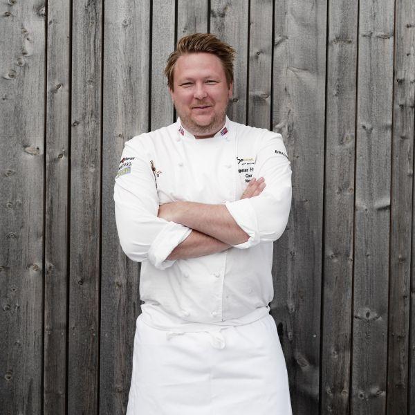 Havila Voyages master chef Gunnar Hvarnes