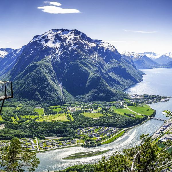 Viewpoint in Andalsnes.
