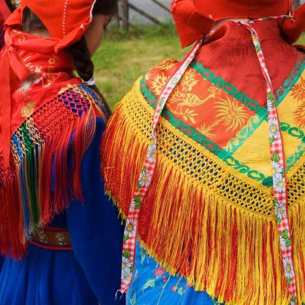 Sami traditional clothes. Photo: Johan Wildhagen, visitnorway.com