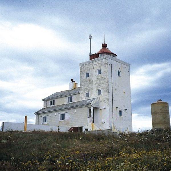 Anda lighthouse in Øksnes. Anda lighthouse in Øksnes. Photo Danckert Monrad-Krohn, Riksantikvaren