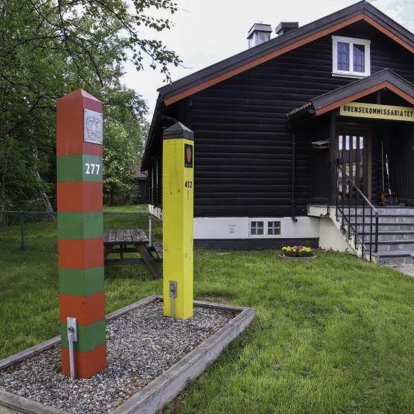 The russian border. Photo: Kirkenes Snowhotel