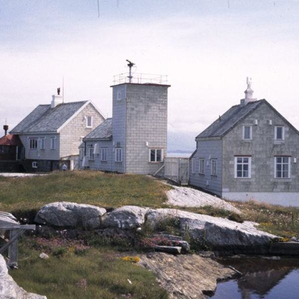 Bjørnsund fyr. Photo Riksantikvaren