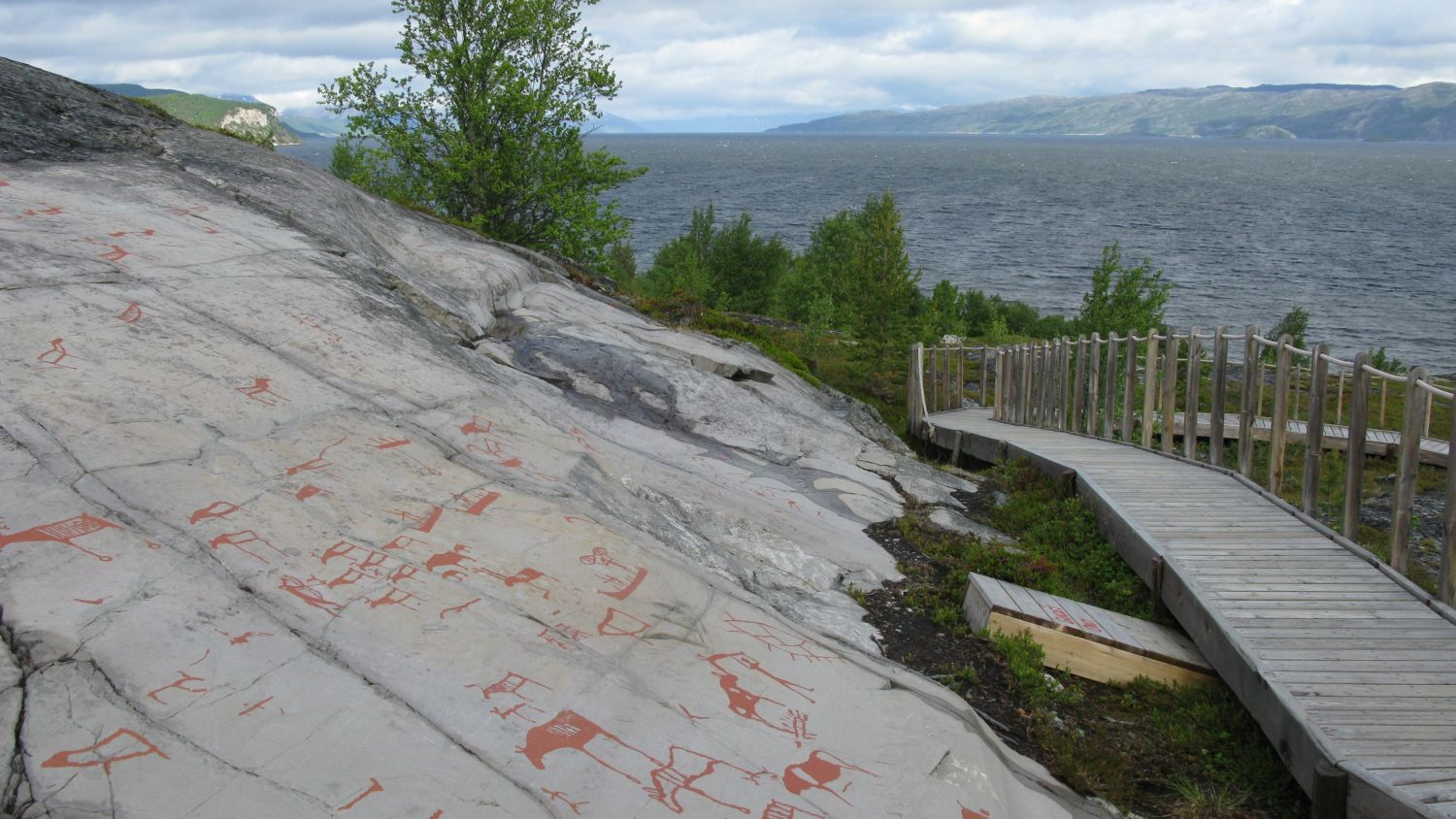 World heritage and Unesco listed rock art in Alta. Photo: Svetlana Funtusova, nordnorge.com