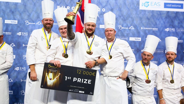 Norwegian gold at Bocuse d'Or