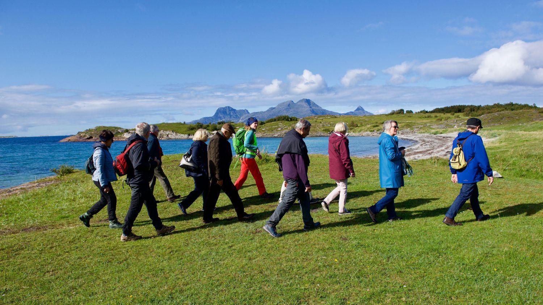 Coastal walk on a beautiful summer day. Photo: Andrea Karstaedt