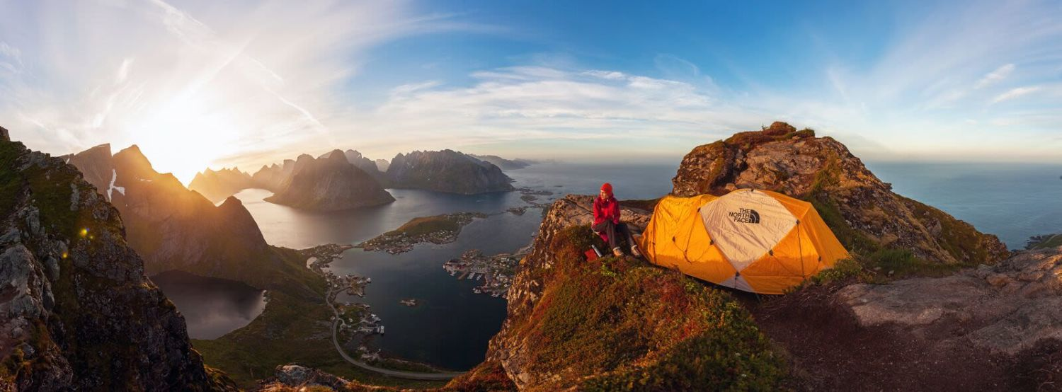 Camping at Reinebringen Lofoten, Photo: Alex Conu, visitnorway.com