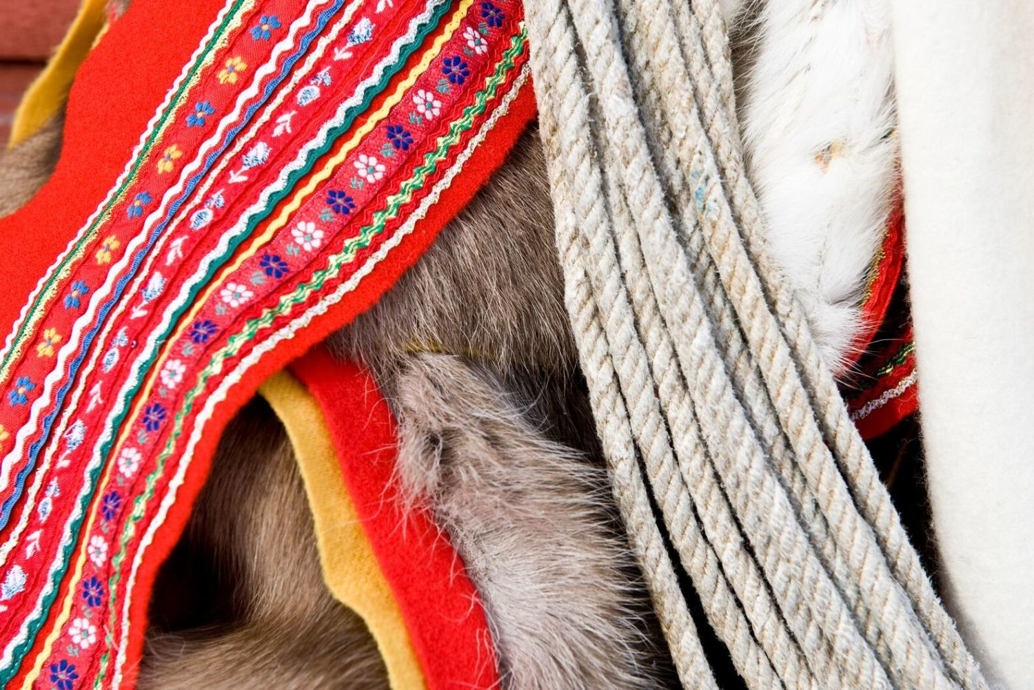 Details from sami clothes. Photo: Terje Rakke, visitnorway.com