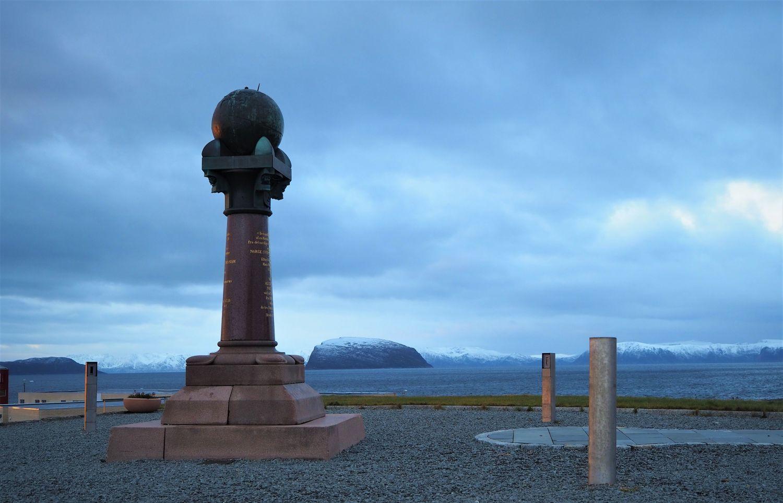 the UNESCO site of the Meridian Column. Photo: Gerd Hagen