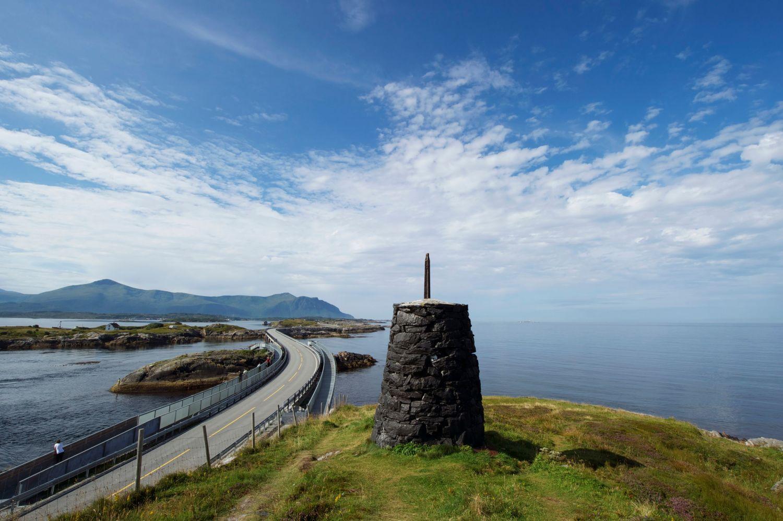 Atlantic Ocean Road viewpoint