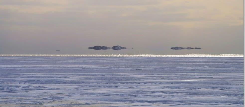 Hildring - norwegian name for optic illusion at sea