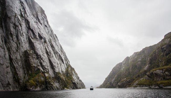 Trollfjorden. Photo: Marius Fiskum, Norges Sjømatråd