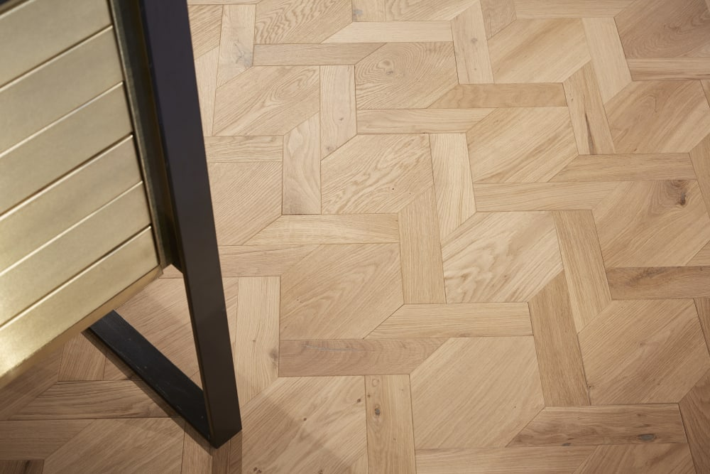 Manchester Showroom Mansion Weave Floor