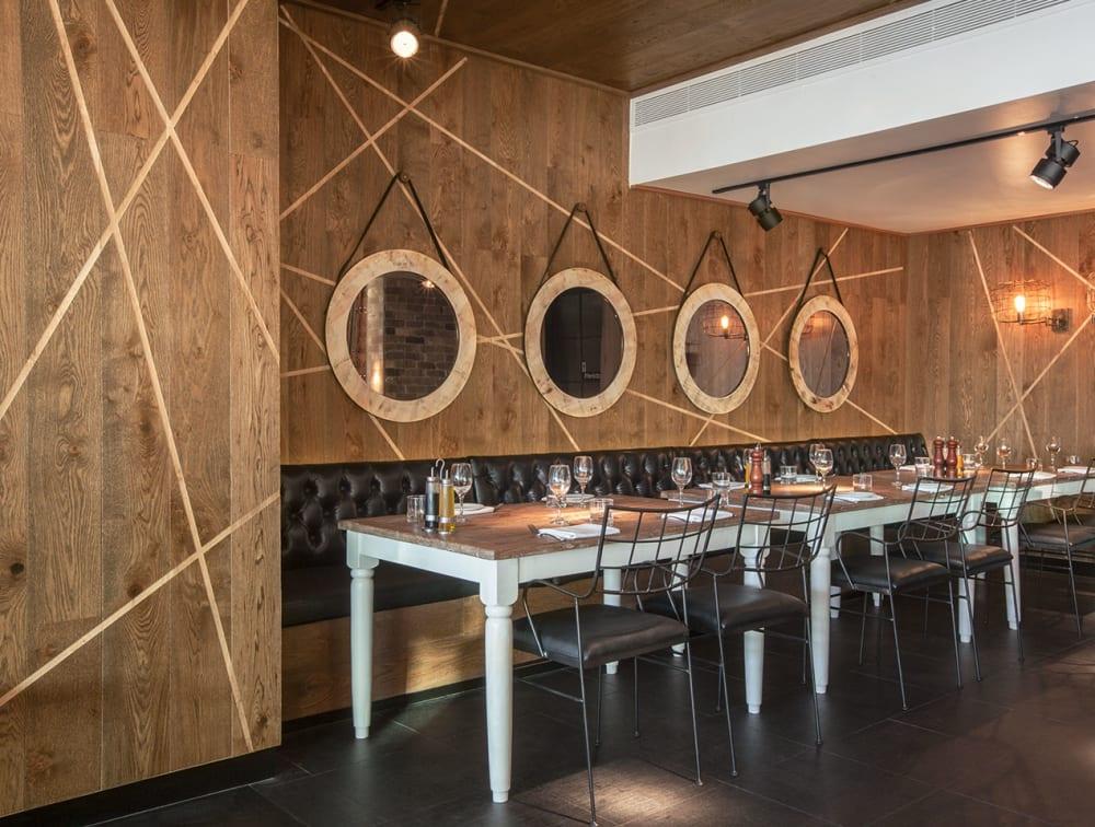 Project | AU | Europlank | HW634 | Chocolate | Casa Ristorante | Wall Cladding