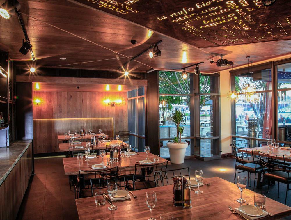 Project | AU | Europlank | HW634 | Chocolate | Casa Ristorante | Ceiling Cladding