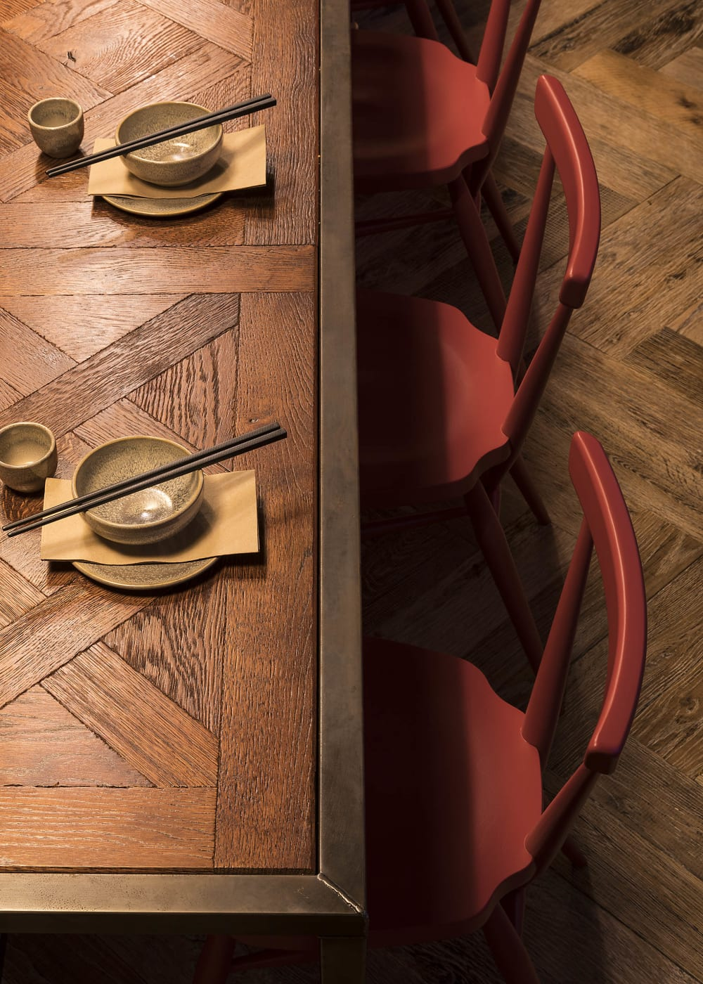 Project   AU   Relik   RECM2025   Reclaimed Barn Oak   Versailles   HW1391   Antique   Peking Square   Table and Floor 4