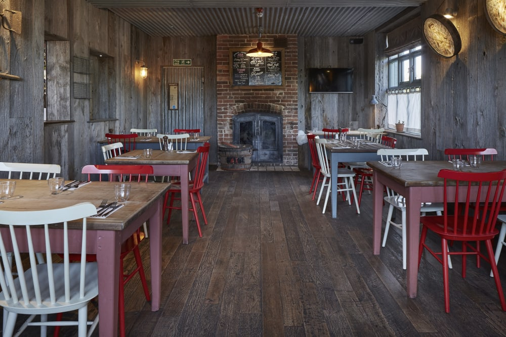 The Potting Shed Dining Area