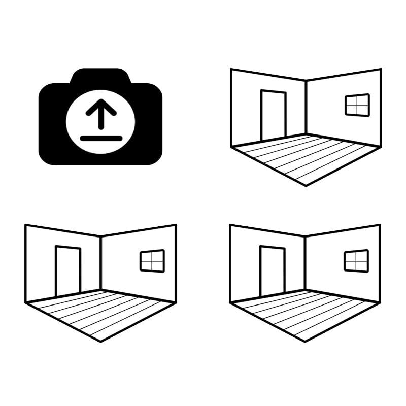 Visualiser Select a room scene