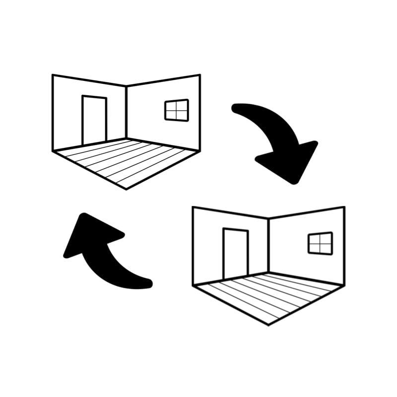 Visualiser Rotate or change floor