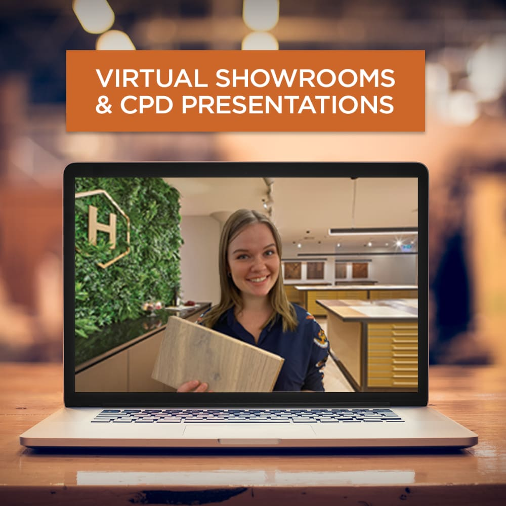 Virtual Showrooms and CPD Presentations Available