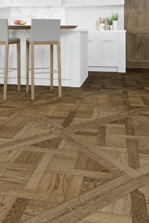Brown Wood Flooring | Arena