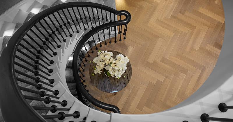 Havwoods Blanco Herringbone Timber Flooring