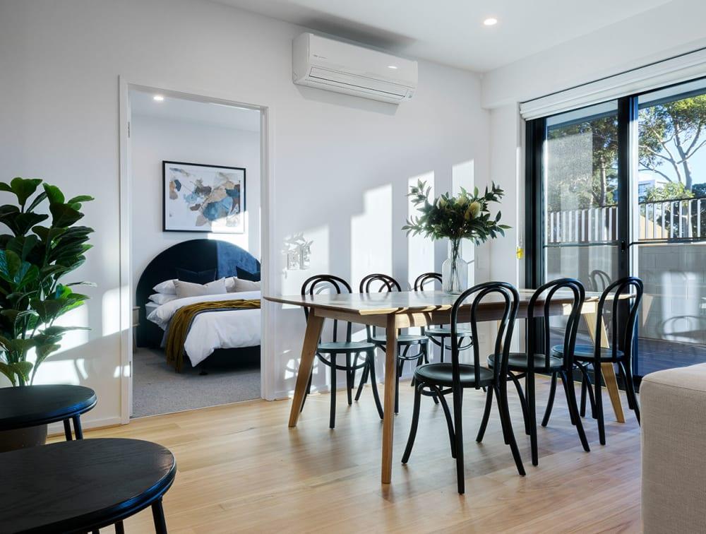 EP110 Australian Blackbutt | Grace Apartments SA