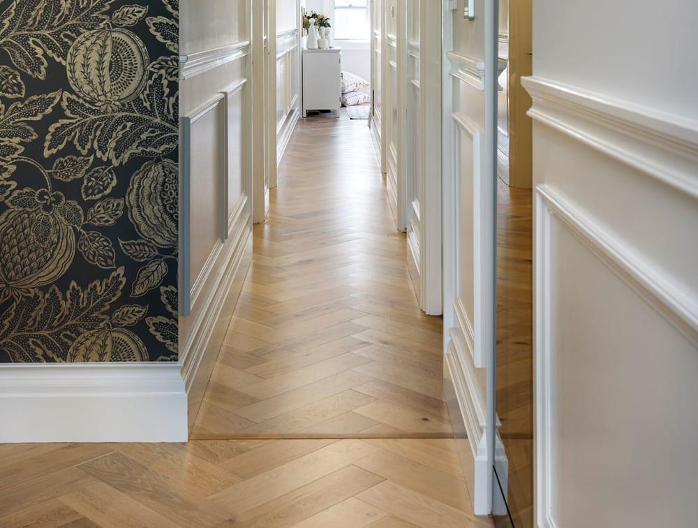 HW3573 Ryde Herringbone timber flooring   Adamstown Residential, NSW