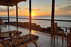 Oceanfront Hale Romantik'