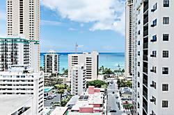 Waikiki Park Heights Ocean 1BD on the 16th Floor