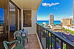 Waikiki Banyan Ocean View Unit