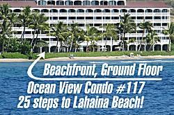 Lahaina Shores Beach Condo 117