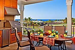 """Ocean View""  Kolea Villa 1E"