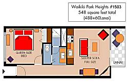Waikiki Park Heights #1503