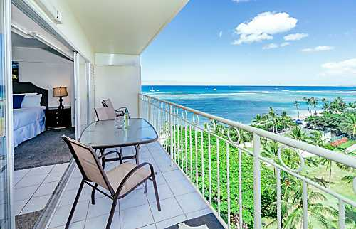 Waikiki Shore Ocean Front 1BD on the 10th Floor
