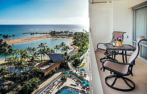Ilikai Hotel Ocean View 1 BDR on 11th Floor