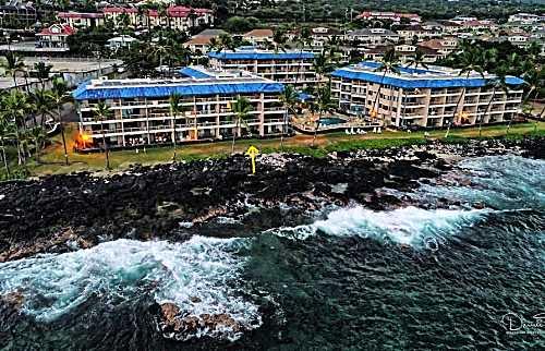 Ocean Front Kona Reef Condo