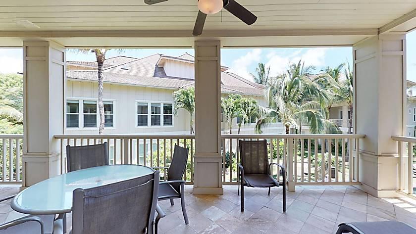 Villas at Poipu Kai Poolside Lanai Unit C211