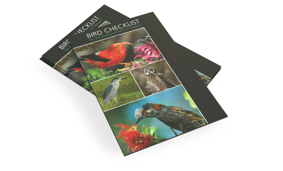 Birds Checklist of the National Parks of Hawaiʻi