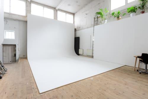 Hele studioet - Studio 1 fra bad.