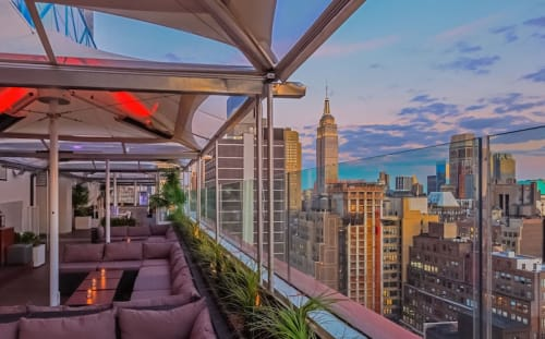 Sky Room - South Terrace Occupancy: 120 Seated/ 200 Standing