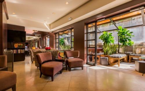 The Writer's Den & The Poetry Garden - Writer's Den: Room + Terrace 660 sq. ft.