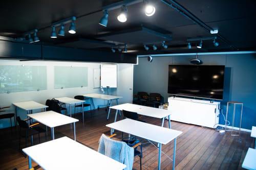 Lokale for bedriftsarrangement og faglige innslag - 2. etasje - klasseromoppsett
