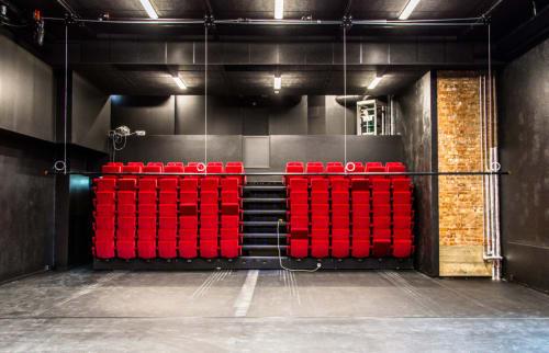 Teater Manus Scene - Nyoppussede lokaler i 2017