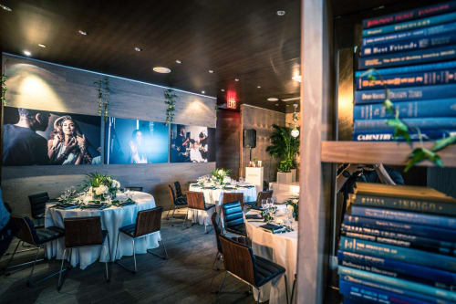 NoMo Library/Behind the Bookcase - Private Dining Room