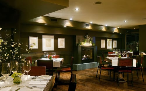 Quality Meats - Fireplace Room