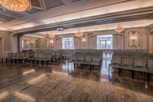 Teatersalen - Maks kapasitet er 250 gjester i kinooppsett