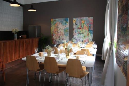 Cantina Paradiso - 3 bord. 8 pax per bord, plass til 24 sittende.